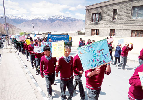 Ladakh's UT demand – The fight against discrimination