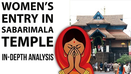 Sabarimala Temple Issue – Customs Vs Constitution