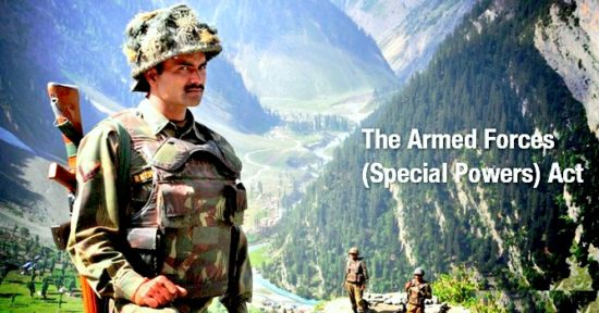 Armed Forces (Special Powers) Act (AFSPA) – The Debate on Security Vs Human Rights